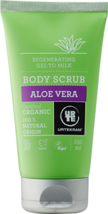 aloe vera body scrub, 150ml, Urtekram