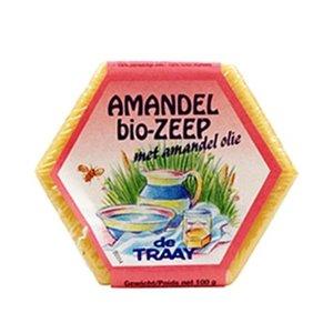 Amandelzeep, 100g, de Traay