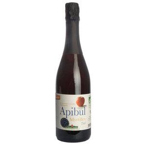 Apibul, myrtilles, bosbes, alcoholvrij, Coteaux Nantais, 750ml