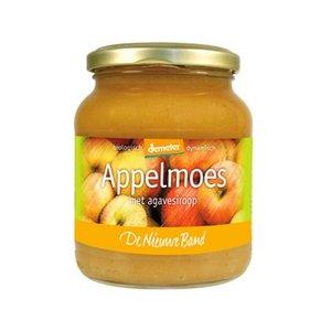 appelmoes met agavesiroop, 360g, De Nieuwe Band appelconserven