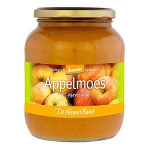 appelmoes met agavesiroop, 700g, De Nieuwe Band appelconserven