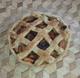 Appeltaart, per stuk, Sallands Houtovenbrood
