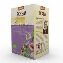 Assortimentbox thee, 20x1kop, Sekem