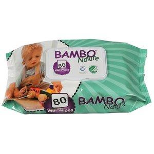 Babydoekjes, 80stuks (Bambo, Nordic Ecolabel)