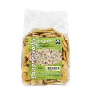 Bananenchips, 250g, De Nieuwe Band