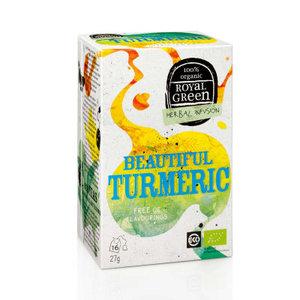 Beautiful turmeric, 16x1kop, Royal Green