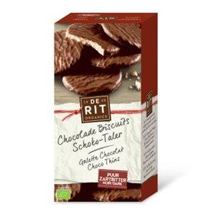 Biscuit, chocolade-puur, 125gram (De Rit, bio)