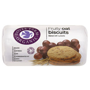 Biscuits fruity oat, 200g, Doves Farm