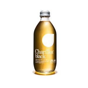 black zwarte thee citroen (gla, 330ml, ChariTea