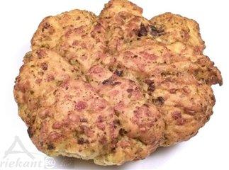 Breekbrood pesto/tapenade, Driekant