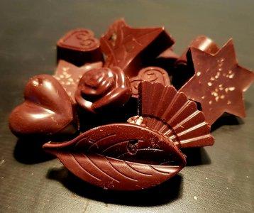 Chocoliefjes-puur 50gr, Gezond Snoepen met Marjoleine