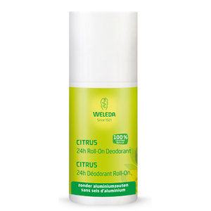citrus 24h deo roll on, 50ml, Weleda