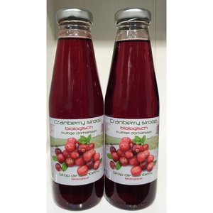 Cranberry-siroop, 500ml, Dutch Cranberry Group