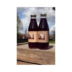 Cranberrysap, ongezoet, 750ml, Dutch Cranberry Group