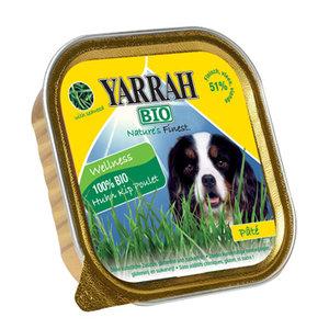dogfood pate kip met zeewier, 150g, Yarrah