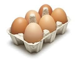 Eieren, 6 stuks, Eddy Tuink