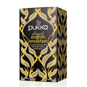 Elegant English breakfast, Pukka, 20x/1pers. (GB, bio-fair trade)