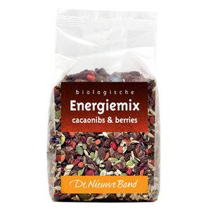 energiemix cacao nibs berries, 500g, De Nieuwe Band
