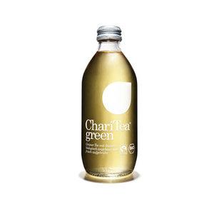 green groene thee gember (glas, 330ml, ChariTea