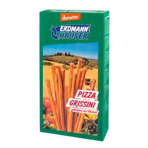 grissini pizza (soepstengels), 100g, Erdmann Hauser