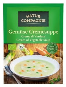 Groente-creme soep, 43gram instant