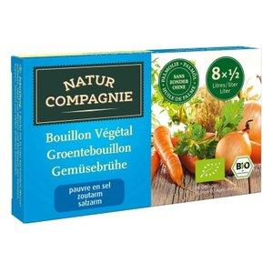 Groentebouillon, wz, 8 blokjes, Natur Compagnie