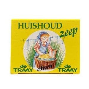 Huishoudzeep, 200g, de Traay