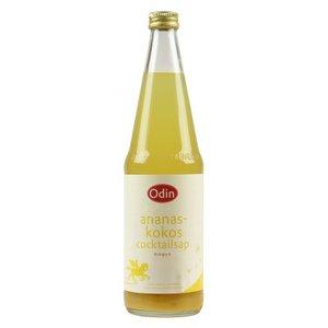 Kokos-ananas fruitdrank, 700ml, Odin