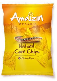 Maischips naturel, 250g, Amaizin