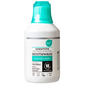 Mondwater, strong mint, 300ml, Urtekram