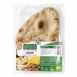 Naanbrood, naturel, 240gr, Omundo