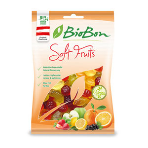 soft fruits z. gelatine, 100g, BioBon