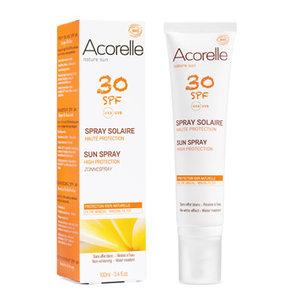 sun spray spf 30, 100ml, Acorelle