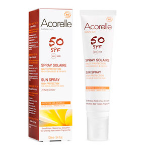 sun spray spf 50, 100ml, Acorelle