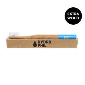 Tandenborstel, blauw, extra soft, Hydrophil