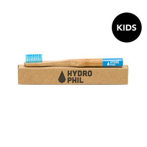 Tandenborstel, blauw, kids, extra soft, Hydrophil