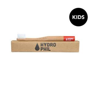 Tandenborstel, rood, kids, extra soft, Hydrophil