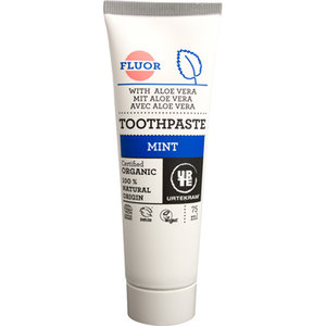 Tandpasta, mint  fluoride, 75ml, Urtekram