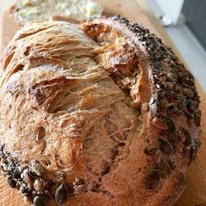 Desem oergranen brood, 650gr, Bosakker Brood