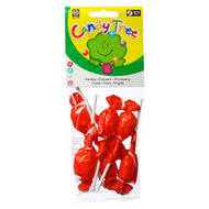 Aardbeilollies, 7st (Candy Tree, bio)