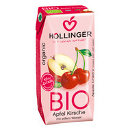 Appel-kersensap, 3x200ml, Hollinger