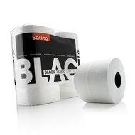 black toiletpapier zacht  wit, 4rol, Satino