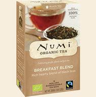 Breakfast blend, 18x1kop (Numi, bio, fair-trade)