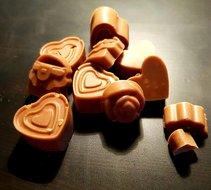 Chocoliefjes-wit, 100gr, Gezond Snoepen met Marjoleine