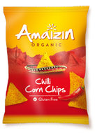 corn chips chili, 75g, Amaizin