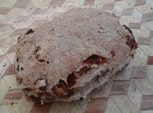 Dadel/walnoot/vijgenbrood, per stuk (Sallands Houtovenbrood)