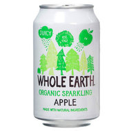 Frisdrank, appel, 330cl, Whole Earth