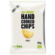 Handcooked chips, gezouten, 125gr, Trafo