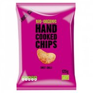 Handcooked chips, sweet chili, 125gr, Trafo