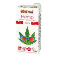 Hennepdrank, naturel-ongezoet, 1ltr (Ecomil, Spanje, bio)